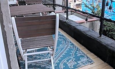 Patio / Deck, 163 W 73rd St, 2