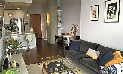 Living Room, 860 Peachtree St NE 2206, 1