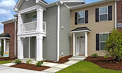 Building, Loch Raven Pointe Apartments and Townhomes, 1