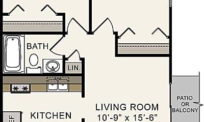 Building, 427 S Silverwood Ln, 1