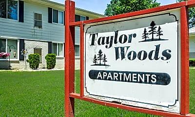 Community Signage, Taylor Woods, 2