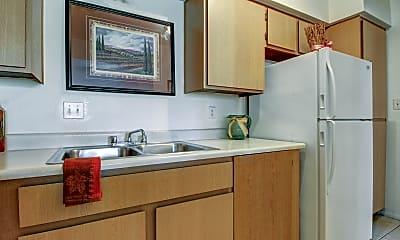 Kitchen, Red Sage Apartments, 1