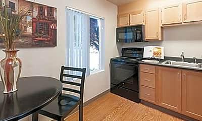 Kitchen, Lake Washington, 1