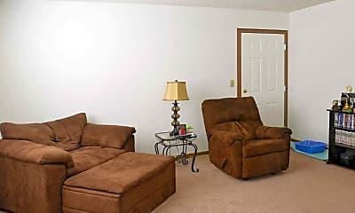 Living Room, Miami Hills, 0