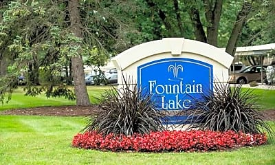 Community Signage, Fountain Lake Apartments, 0
