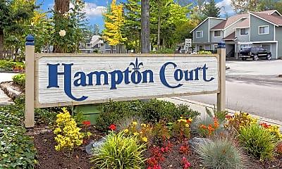 Community Signage, Hampton Court, 0
