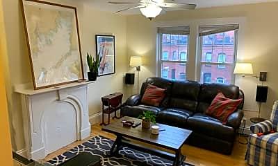Living Room, 430 E 3rd St, 1