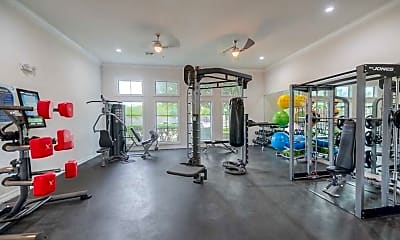 Fitness Weight Room, Javelina Station, 2