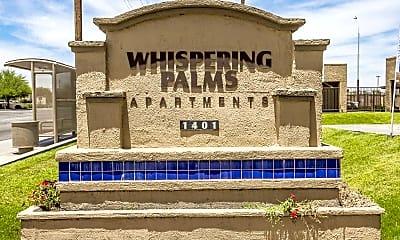 Community Signage, Whispering Palms Estates - Se Habla Espanol, 2