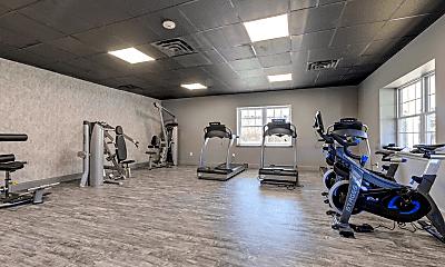 Fitness Weight Room, 800 Cassata Dr, 2