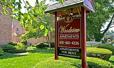 Community Signage, Woodview Apartments, 0