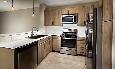 Kitchen, The Madison at Town Center, 1
