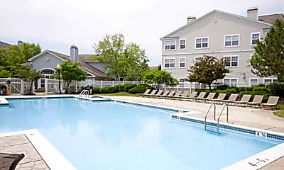 Pool, Riverscape at Piney Orchard Apartments, 1