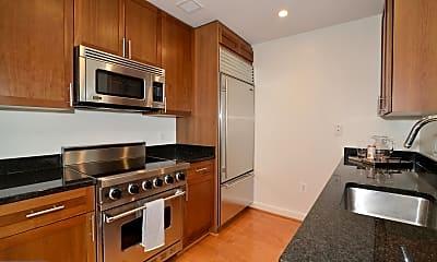 Kitchen, 4380 King St 1601 T2, 1