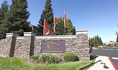Community Signage, Sunset Summit, 2