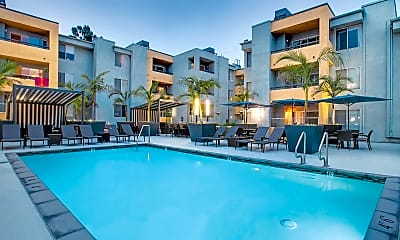 Pool, The Crescent at West Hollywood, 0