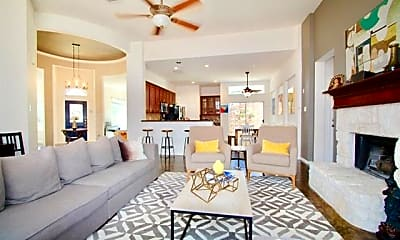 Living Room, 5405 Moonlight Ln, 1