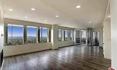 Living Room, 5670 Wilshire Blvd PH2, 1