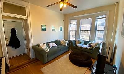 Living Room, 1227 N Milwaukee St, 1