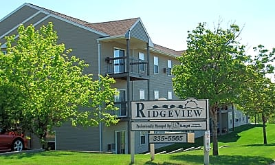 Community Signage, Ridgeview Apartments, 0