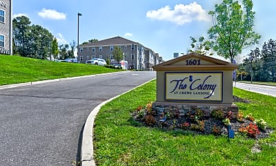 Community Signage, The Colony at Chews Landing, 2