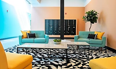 Living Room, Tidewater Square Apartments, 1