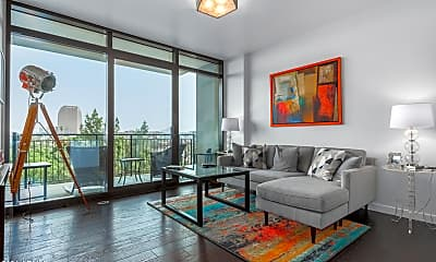 Living Room, 200 W Portland St 518, 1