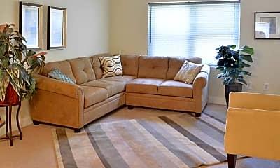 Living Room, Riverfront Park Apartments, 1