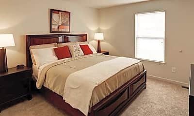 Bedroom, River View Townhomes, 2