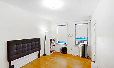 Living Room, 27 Glenville Avenue, Unit 1, Allston, Boston, MA, 2