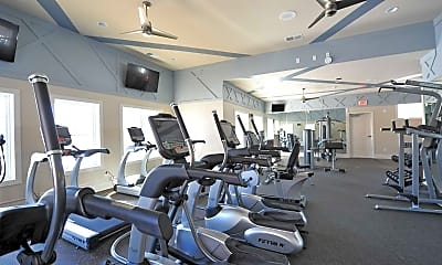 Fitness Weight Room, Clairmont At Chesterfield, 2