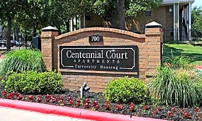 Community Signage, Centennial Court, 2