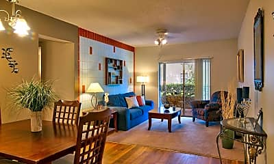 Dining Room, Regency Apartments, 1