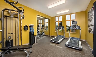 Fitness Weight Room, Beaumont Place, 2