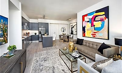 Living Room, 855 Central Ave 624, 2