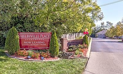 Community Signage, Shelbyville Place Apartments, 0