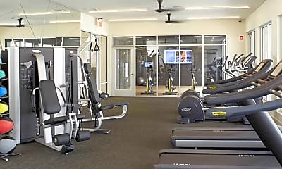 Fitness Weight Room, Mave Apartments, 2