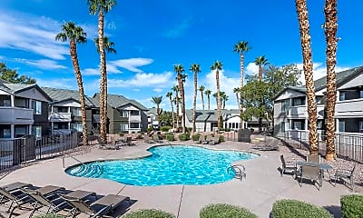 Pool, The Boulevard Apartments, 2