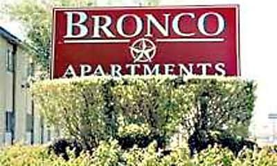 Bronco Apartments, 1