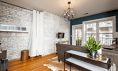 Living Room, 4012 N Albany Ave, 1