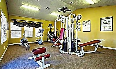 Fitness Weight Room, Flamingo Polo Club Condominiums, 2