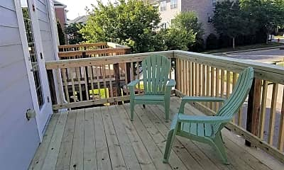 Patio / Deck, 403 Old Mill Village Dr, 2