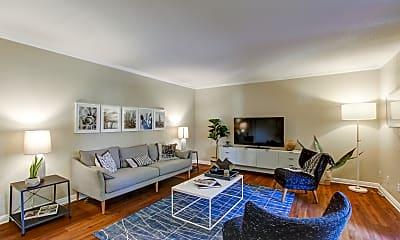Living Room, Amber Ridge Apartments, 1
