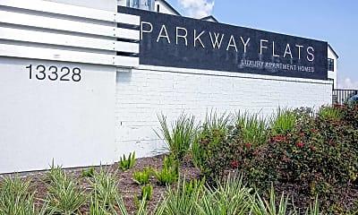 Community Signage, Parkway Flats, 2