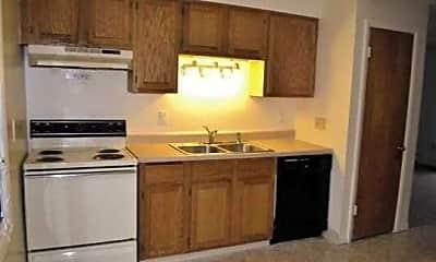 Kitchen, Seneca Garden Apartments, 1