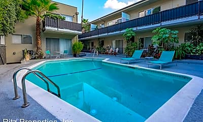 Pool, 1361 N. Laurel Ave., 2