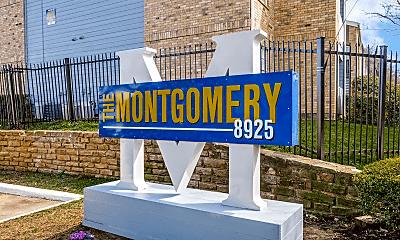 Community Signage, The Montgomery, 0