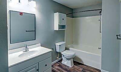 Bathroom, White Pines Apartments, 2