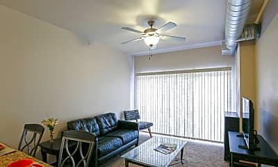 Living Room, Moline Enterprise Lofts, 1