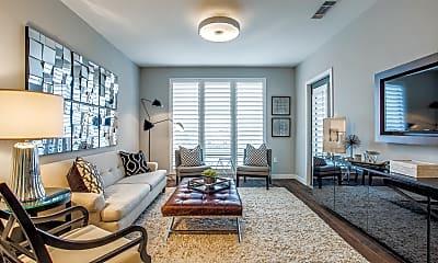 Living Room, 5609 SMU Blvd, Unit 308, 0